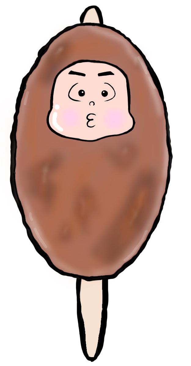 五平餅くんイラスト